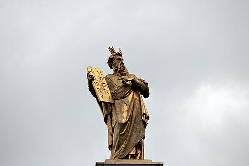 圣经雕塑人物高清图片